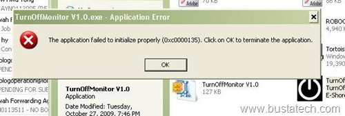 applicationerror