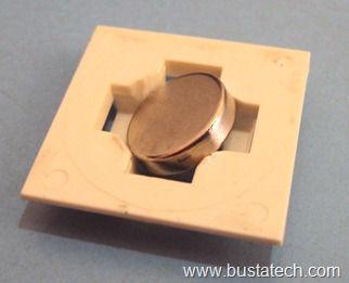 Build a Magnetic Key Hanger using Cable Tie Mount and Neodymium Magnet