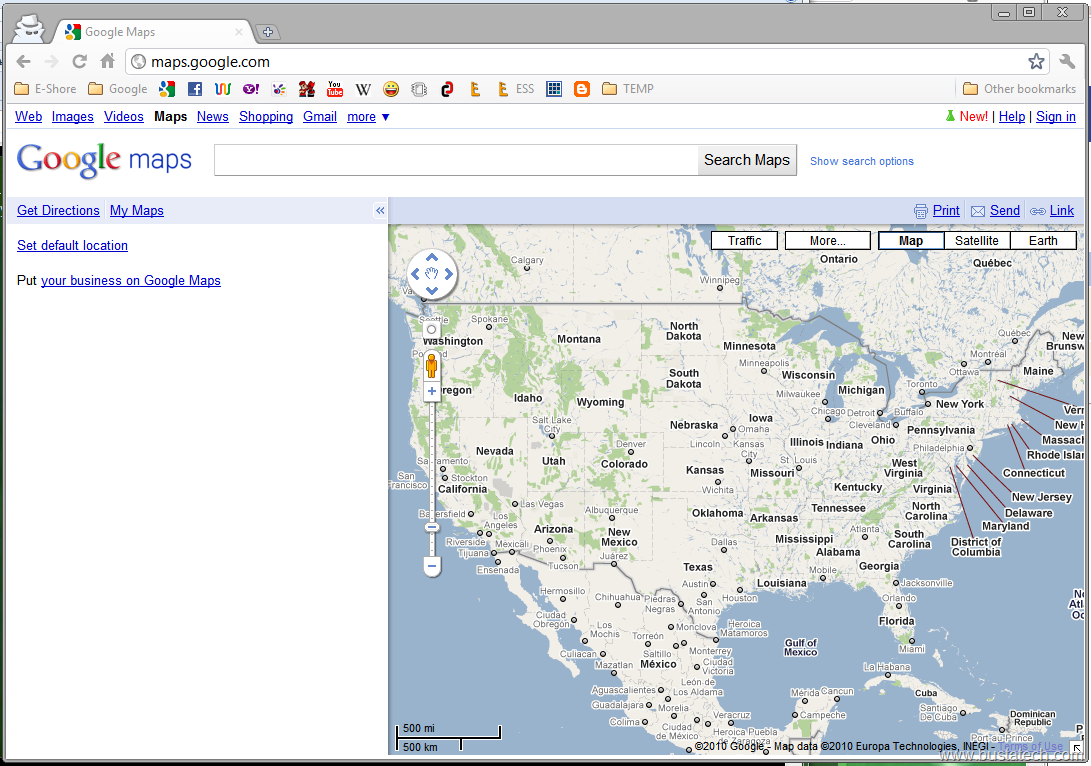 Funny instruction by google maps bust a tech for Http pictures